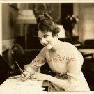 Madge Kennedy Dimples c.1921 Silent Era Movie Photo