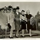 Maria Montez and Sisters 1944 Org Ed ESTABROOK Photo
