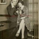 Peter GAWTHORNE Carol SCOTT c.1929 ORG PHOTO H53