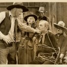 Harry CAREY Unknown BLONDE COWGIRL Org Film PHOTO F423