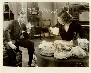 VINTAGE Katherine HEPBURN Charles Boyer Movie Photo