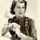 VINTAGE Franc HALE NBC ORG Ray Lee Jackson B&W  PHOTO