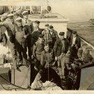 VINTAGE 1920s SILENT ERA Movie CREW SET PHOTO