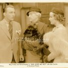 VINTAGE Bing CROSBY Miriam Hopkins Fur 1934 Movie Photo