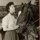 Beautiful Ava GARDNER Horse Original Candid PHOTOGRAPH