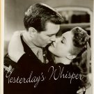 VINTAGE Movie PHOTO Robert HUTTON Joan LESLIE Kissing