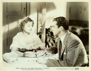 Myrna LOY Richard GREENE If THIS be SIN ORG PHOTO i356