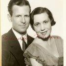 Ruth LYON Cyril PITTS NBC Chicago SEYMOUR PHOTO G855