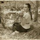 Dolores del Rio Piglet Maria Candelaria Original Photo