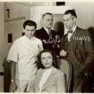 John GARFIELD Raymond MASSEY VINTAGE Warner Bros PHOTO