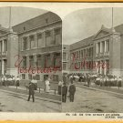 Chicago IL 1900s SEARS Roebuck CO Bldg Noon STEREOVIEW