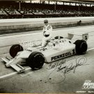 Johnny Rutherford 65th Inndy 500 Autographed Photo