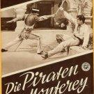 Maria Montez Pirates of Monterey Original Movie Program