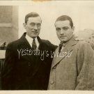 Vintage Richard Barthelmess NY Mayor James Walker Photo