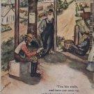 Little town o' tailholt JAMES Riley c1907 Postcard E555