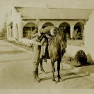 UNKNOWN Silent Film HORSE Org Movie Still PHOTO E927