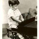 UNKNOWN Little Boy PIANO Org Publicity Promo PHOTO E900