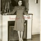 Mapy CORTES Old HOLLYWOOD Fashion 1942 ORG PHOTO G753