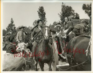 Dewey MARTIN Handsome Daniel BOONE TV PHOTO H559