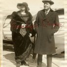 William FARNUM Wife S.S. ARAQUAYA c.1925 ORG PHOTO G695