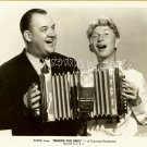 Rare Don Wilson Sterling Holloway Accordion Movie Photo