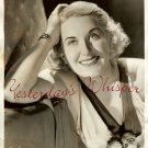Vivian Della CHIESA La BOHEME c.1937 ORG PHOTO H527