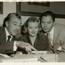 Cesar ROMERO Jack BUETEL Nat DALLINGER PHOTO H322
