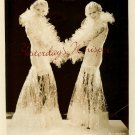 HOLLYWOOD Golden AGE CHLORINES Cellophane Gowns PHOTO