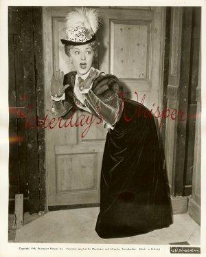 Virginia FIELD Fur VICTORIAN Dress ORG Paramount PHOTO
