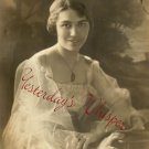 Ethel BENEDICT Soprano c1919 ORG BEIDLER Chicago PHOTO