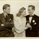 Ronald REAGAN Priscilla LANE Fur Vintage Movie PHOTO