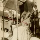 1928 SF CA Columbus DAY Fete Queen ISABELLA ORG PHOTO