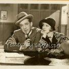 Greta NISSEN Fur Jack MULHALL c.1928 ORG Silent PHOTO