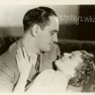 Janet GAYNOR Frederic MARCH Star is BORN VINTAGE PHOTO