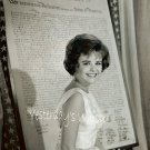 1960s Vintage Photograph Cute Pixie Deborah Walley