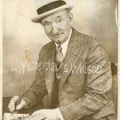 1920s Vintage Publicity Photo Charlie Murray signing