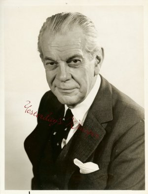 1960s Vintage TV Promo Photo Raymond Massey Dr. Kildare
