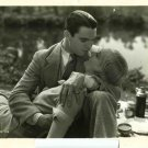Carole Lombard Chester Morris Kissing Original Movie Photo
