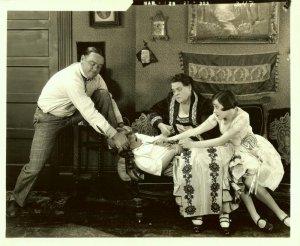 Gertrude Olmstead Marie Dressler RARE MGM Proof Stamped Photo