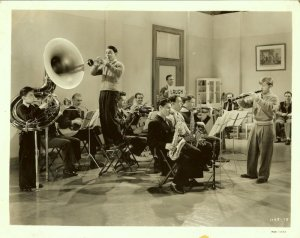 Mickey Rooney Boys Town School Band Origial Photo