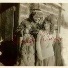 Winifred KINGSTON Dustin FARNUM Fur ORG SILENT PHOTO