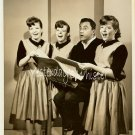Bill Dana Singing KANE Triplets 1963 TV Promo Photo