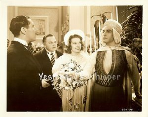 Ramon NOVARRO Lola LANE Gene LOCKHART Sheik Steps Out ORIGINAL c.1937 Photo