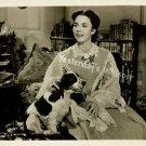 Jennifer Jones Dog Barretts Wimpole St Original Photo