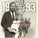 Merlin Olsen Tournament of Roses Queen 1982 TV Photo