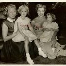 Esther Williams June Allyson Hutton Kids Original Photo