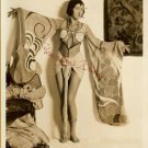 Sexy Midriff Leggy Josephine Borio Vintage Autrey Photo