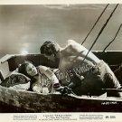 RARE Donald HOUSTON Bare Back Jean SIMMONS Blue Lagoon ORIGINAL 1949 Photo