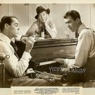 James STEWART Wurlitzer Burgess MEREDITH On OUR Merry WAY Original 1948 Photo