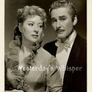 RARE Greer GARSON Dashing ERROL FLYNN Original Glamour PORTRAIT 1949 Movie Photo